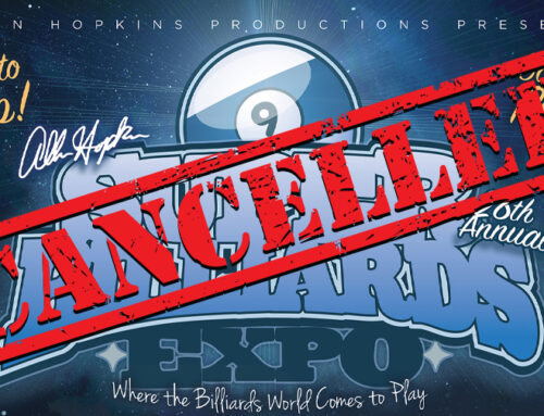 Super Billiards Expo 2020 Cancels Because Of COVID Pandemic